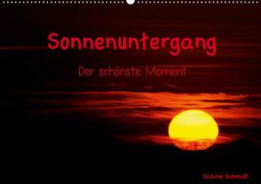 Sonnenuntergang (Wandkalender 2021 DIN A2 quer) von Schmidt,  Sabine