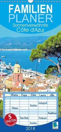 Sonnenverwöhnte Cote d'Azur (Wandkalender 2018 PRO_49_format hoch) von CALVENDO,  k.A.