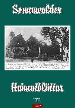 Sonnewalder Heimatblätter 2018 von Sonnewalder Heimatverein e. V.