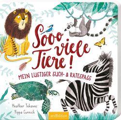 Sooo viele Tiere! von Curnick,  Pippa, Tekavec,  Heather