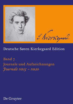 Søren Kierkegaard: Deutsche Søren Kierkegaard Edition (DSKE) / Journale NB 15-20 von Kleinert,  Markus, Schreiber,  Gerhard