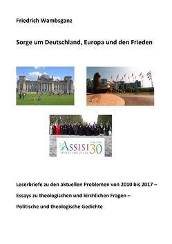 Sorge um Deutschland, Europa und den Frieden von Wambsganz,  Friedrich