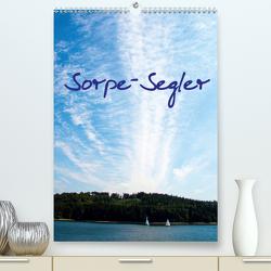 Sorpe-Segler (Premium, hochwertiger DIN A2 Wandkalender 2020, Kunstdruck in Hochglanz) von Suttrop,  Christian