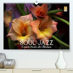 Soul-Jazz – Visuelle Musik der Blumen (Premium, hochwertiger DIN A2 Wandkalender 2021, Kunstdruck in Hochglanz) von Photon (Veronika Verenin),  Vronja