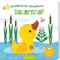 Soundbuch für Klitzekleine – Bauernhof von Marshall,  Natalie
