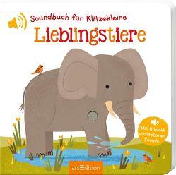 Soundbuch für Klitzekleine – Lieblingstiere von Marshall,  Natalie