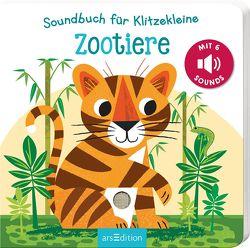 Soundbuch für Klitzekleine – Zootiere von Marshall,  Natalie