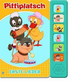 """Soundbuch """"Pitteplatsch"""" Erste Lieder"""