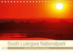 South Luangwa Nationalpark (Tischkalender 2018 DIN A5 quer) von Woyke,  Wibke