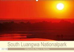 South Luangwa Nationalpark (Wandkalender 2018 DIN A2 quer) von Woyke,  Wibke