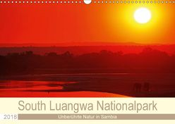 South Luangwa Nationalpark (Wandkalender 2018 DIN A3 quer) von Woyke,  Wibke