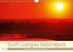 South Luangwa Nationalpark (Wandkalender 2018 DIN A4 quer) von Woyke,  Wibke