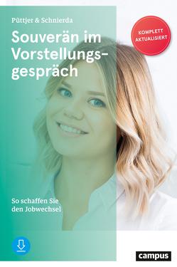 Souverän im Vorstellungsgespräch von Püttjer,  Christian, Schnierda,  Uwe