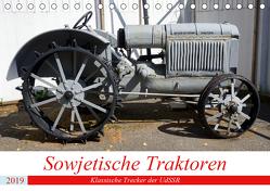 Sowjetische Traktoren – Klassische Trecker der UdSSR (Tischkalender 2019 DIN A5 quer) von von Loewis of Menar,  Henning