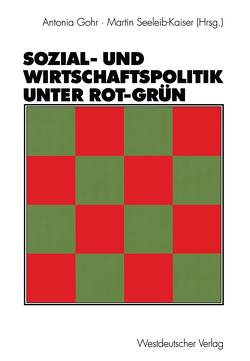 Sozial- und Wirtschaftspolitik unter Rot-Grün von Gohr,  Antonia, Seeleib-Kaiser,  Martin