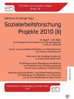 Sozialarbeitsforschung Projekte 2010 (II) von Gumpinger,  Marianne