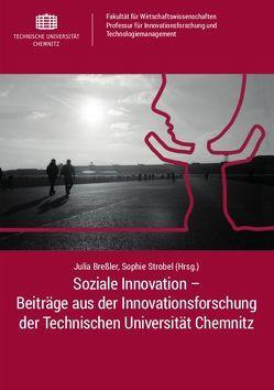 Soziale Innovation – Beiträge aus der Innovationsforschung der Technischen Universität Chemnitz von Breßler,  Julia, Strobel,  Sophie
