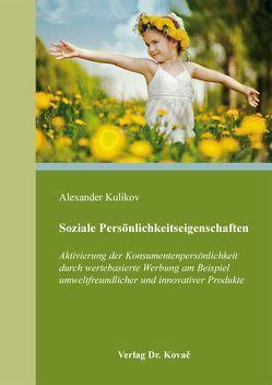 Soziale Persönlichkeitseigenschaften von Kulikov,  Alexander
