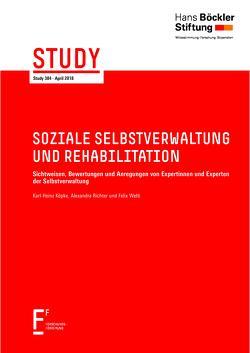 Soziale Selbstverwaltung und Rehabilitation von Köpke,  Karl-Heinz, Richter,  Alexandra, Welti,  Felix