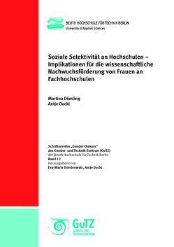 Soziale Selektivität an Hochschulen von Dömling,  Martina, Ducki,  Antje