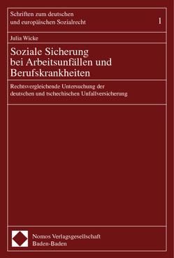 Soziale Sicherung bei Arbeitsunfällen und Berufskrankheiten von Wicke,  Julia