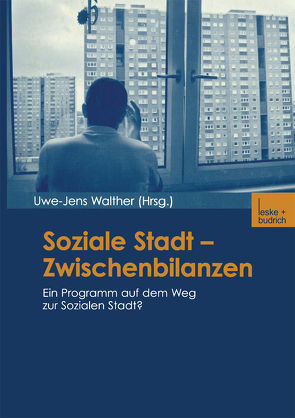 Soziale Stadt — Zwischenbilanzen von Walther,  Uwe-Jens