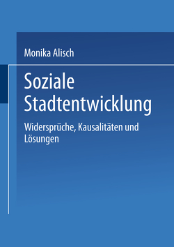 Soziale Stadtentwicklung von Alisch,  Monika