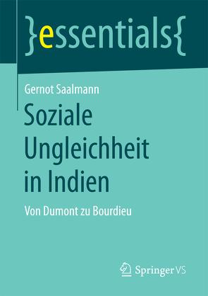 Soziale Ungleichheit in Indien von Saalmann,  Gernot