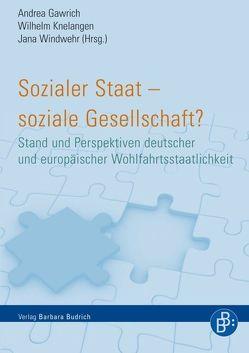 Sozialer Staat – soziale Gesellschaft? von Gawrich,  Andrea, Knelangen,  Wilhelm, Windwehr,  Jana