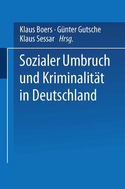Sozialer Umbruch und Kriminalität in Deutschland von Boers,  Klaus, Gutsche,  Günter, Sessar,  Klaus