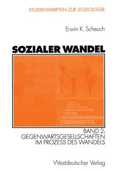 Sozialer Wandel von Scheuch,  Erwin K., Scheuch,  Ute