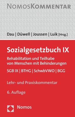 Sozialgesetzbuch IX von Dau,  Dirk H., Düwell,  Franz Josef, Joussen,  Jacob, Luik,  Steffen