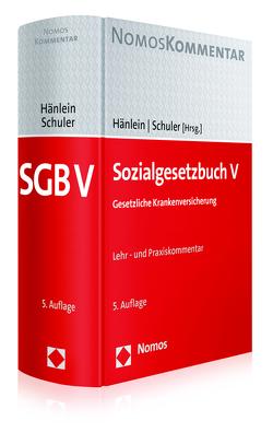 Sozialgesetzbuch V von Hänlein,  Andreas, Schuler,  Rolf