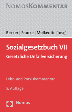Sozialgesetzbuch VII von Becker,  Harald, Franke,  Edgar, Molkentin,  Thomas