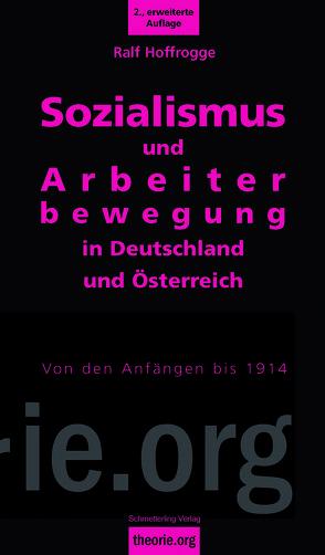 Sozialismus und Arbeiterbewegung in Deutschland und Österreich von Hoffrogge,  Ralf