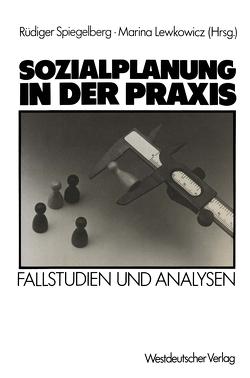 Sozialplanung in der Praxis von Spiegelberg,  Rüdiger