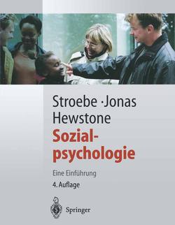 Sozialpsychologie von Hewstone,  Miles, Jonas,  Klaus, Stroebe,  Wolfgang