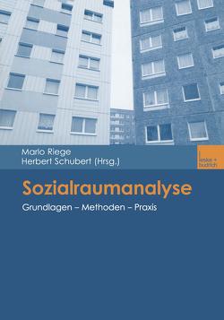 Sozialraumanalyse von Riege,  Marlo, Schubert,  Herbert