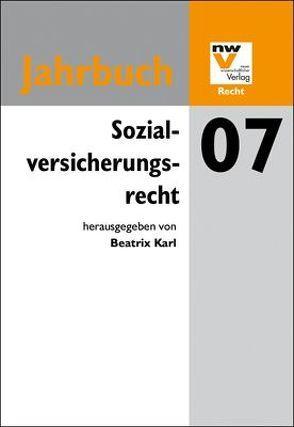 Sozialversicherungsrecht von Karl,  Beatrix