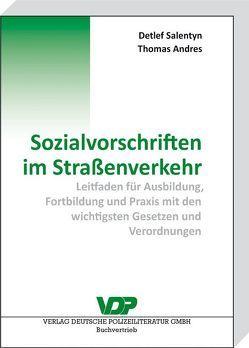 Sozialvorschriften im Straßenverkehr von Andres,  Thomas, Nitze,  Hans-Jörg, Salentyn,  Detlef