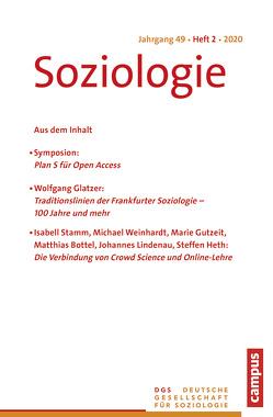 SOZIO 02/2020 von Farzin,  Sina, Lange,  Karin, Nissen,  Sylke