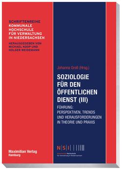 Soziologie für den öffentlichen Dienst (III) von Groß,  Johanna