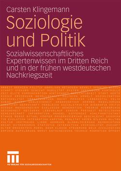 Soziologie und Politik von Klingemann,  Carsten