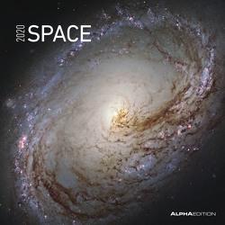 Space 2020 – Broschürenkalender (30 x 60 geöffnet) – Wandkalender – Weltraum – Wandplaner – Galaxien – Universum von ALPHA EDITION