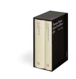 Späte Erzählungen 1919-1953 von Mann,  Thomas, Vaget,  Hans Rudolf