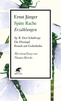 Späte Rache von Hettche,  Thomas, Jünger,  Ernst