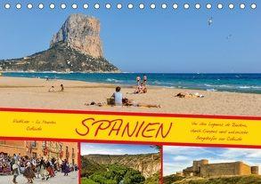 Spanien / CH-Version (Tischkalender 2018 DIN A5 quer) von Wenk,  Marcel