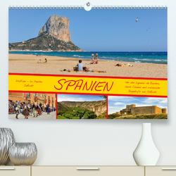 Spanien (Premium, hochwertiger DIN A2 Wandkalender 2021, Kunstdruck in Hochglanz) von Wenk,  Marcel