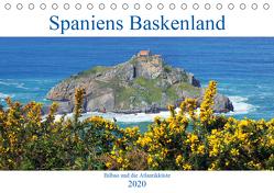 Spaniens Baskenland (Tischkalender 2020 DIN A5 quer) von gro