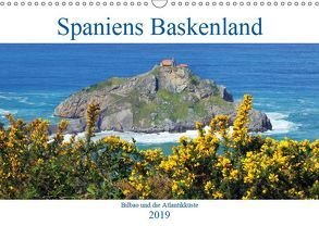 Spaniens Baskenland (Wandkalender 2019 DIN A3 quer) von gro